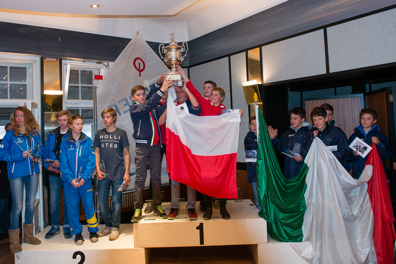 28th International Opti Team Cup 2015, Potsdamer Yacht Club Berlin