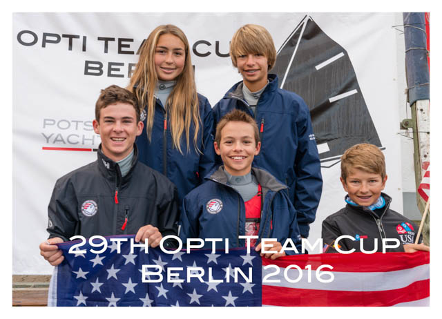 29th International Opti Team Cup 2016, Potsdamer Yacht Club Berlin