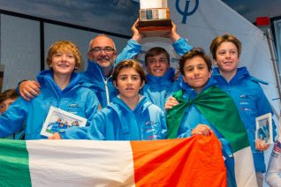 Winner 2018, Team Italy